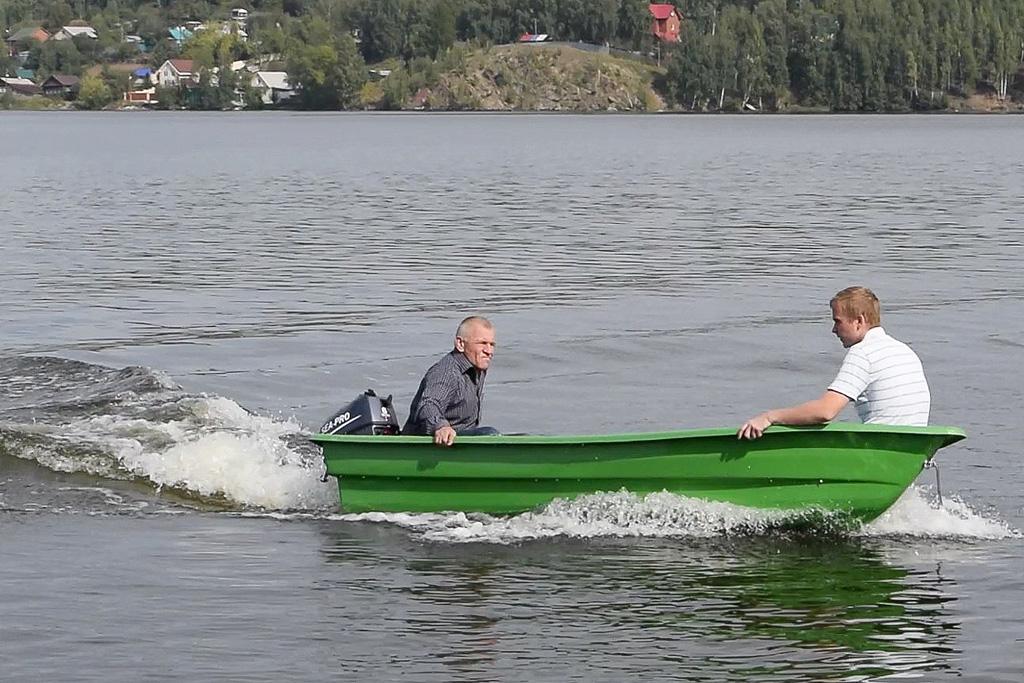 моторно-весельная лодка легант 340