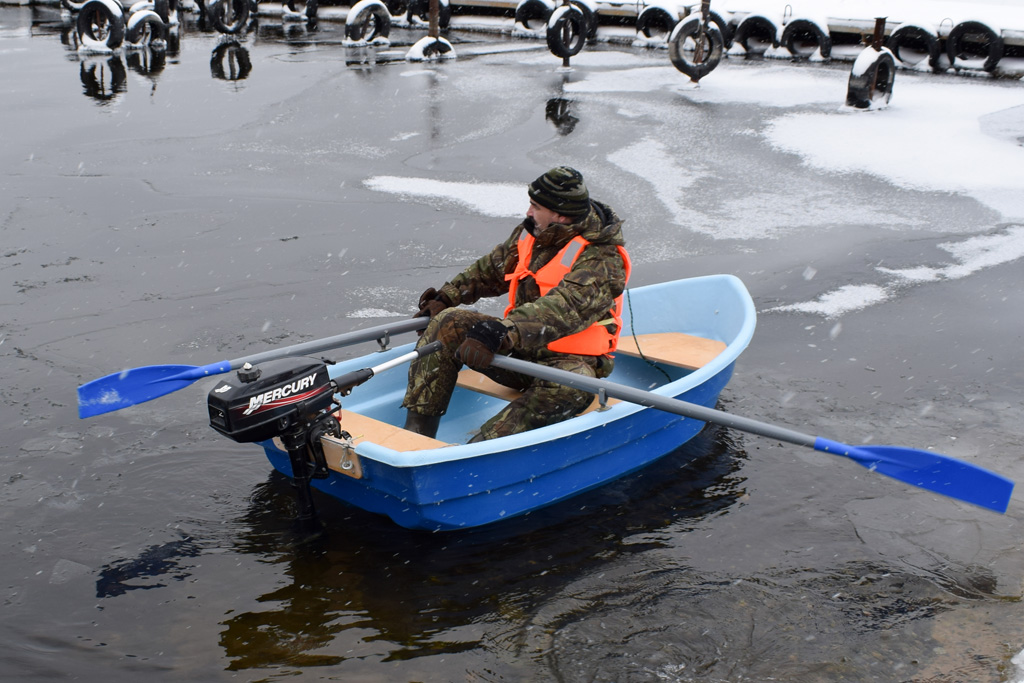 продажа одномесных лодок