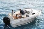 Пластиковый катер Quicksilver Activ 470 Cabin