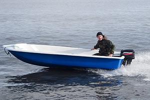 Моторно-гребная лодка Легант-390 Моторка
