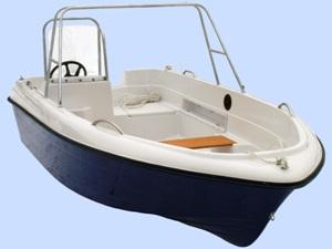 Стеклопластиковая моторная лодка Легант-400