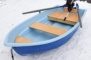 Стеклопластиковая лодка Тортилла-235 (Картоп)
